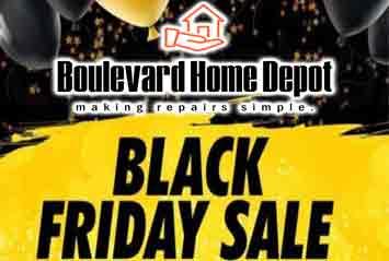 Boulevar Home Depot Black Friday Discount