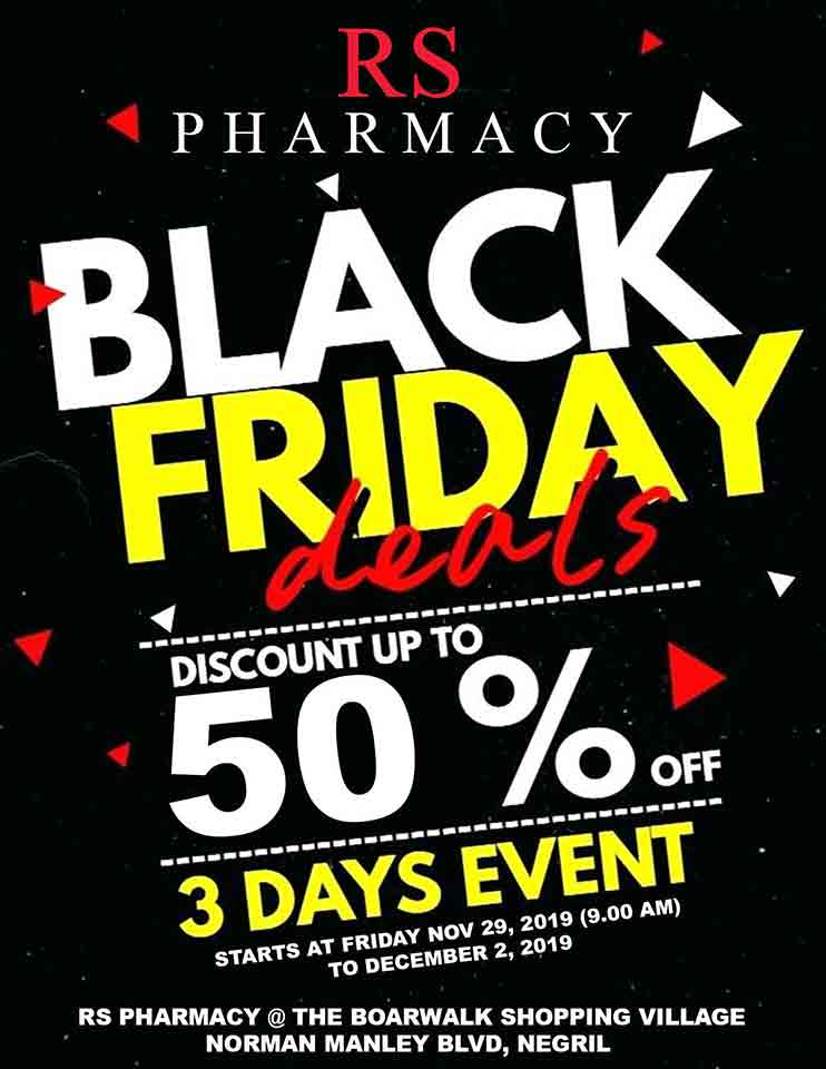 RS Pharmacy Black Friday 50% discount