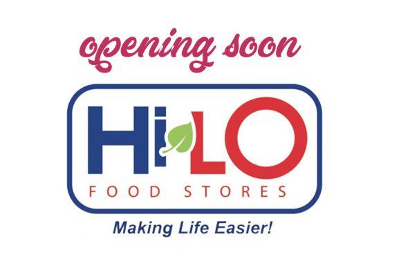 HILO Supermarket opening soon