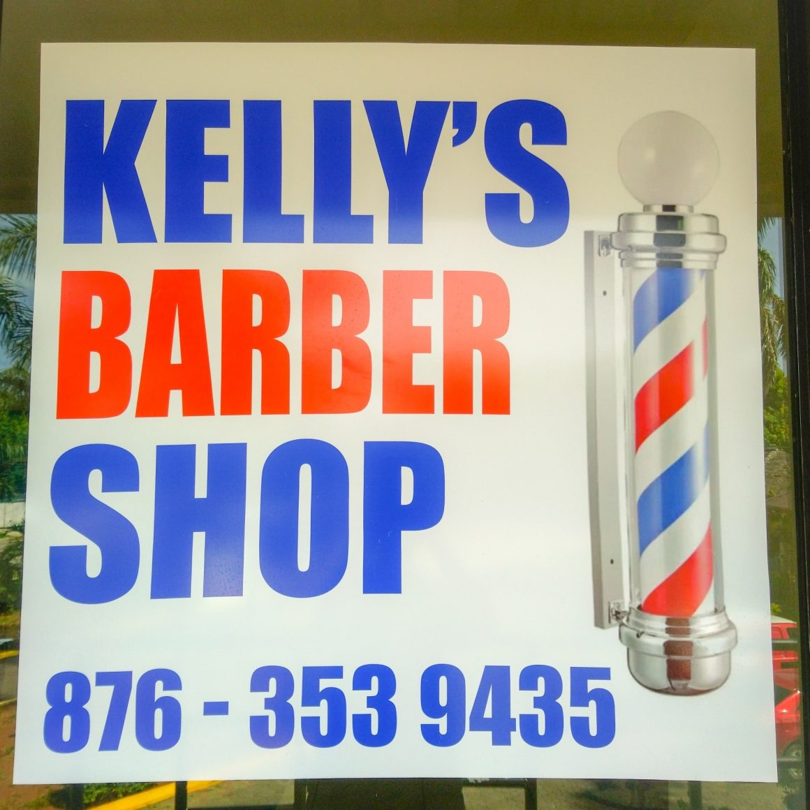Kelly Barber Shop open