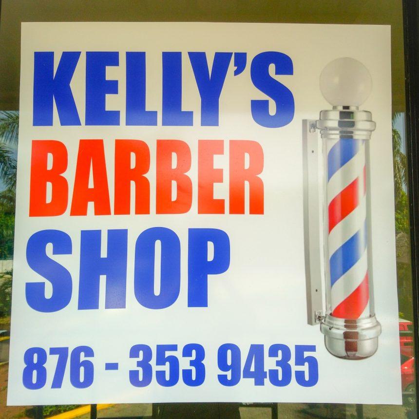 Kelly Barber Shop open